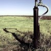 leachate landfills - view with landfill gas extarction