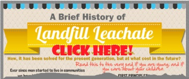 Leachate history graphic ad